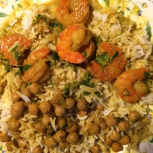 foodiesgalore chickpea and shrimp curries