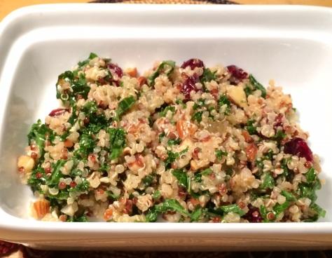 foodiesgalore.com quinoa kale salad