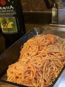 foodiesgalore.com Spaghetti Pizza pasta