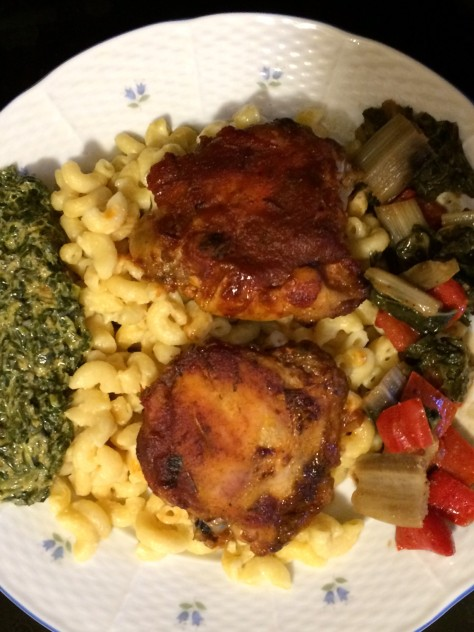 foodiesgalore.com Cacciatore and Macaroni Dinner